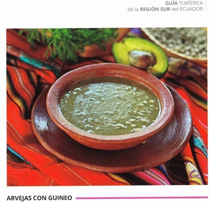 PEAS SOUP WITH AVOCADO: (very good and delicious)